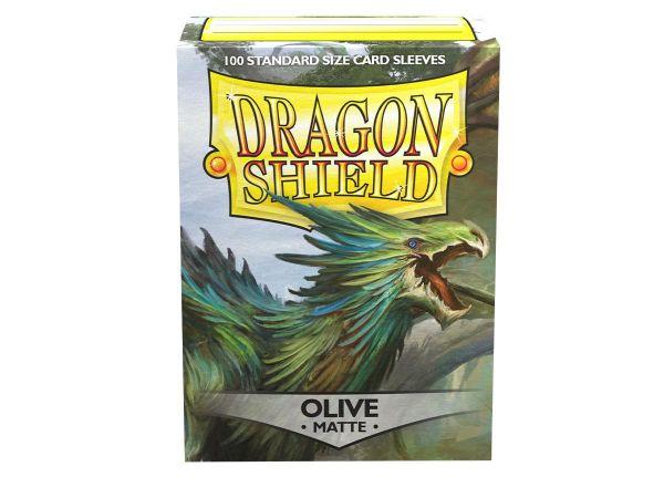 Dragon Shield 100 Matt Olive