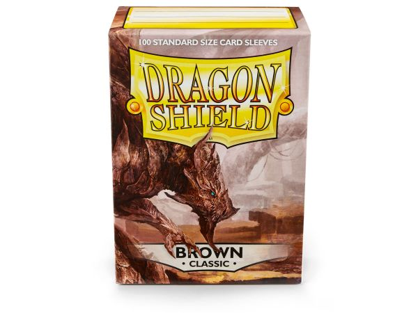 Dragon Shield 100 Classic Brown