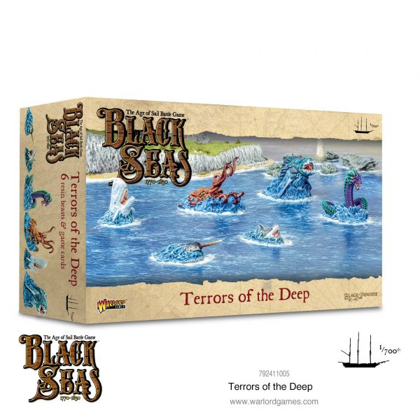 Black Seas Terrors of the Deep