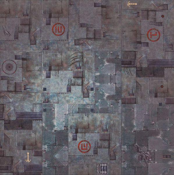 Gamemat 48x48 Zoll Tricity