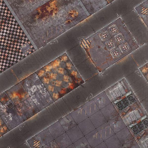 Gamemat 48x48 Zoll Quarantine Zone