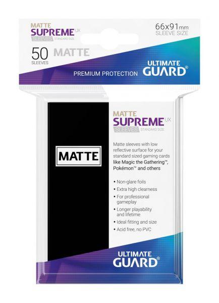 Supreme UX Sleeves Standard Size Matt Black