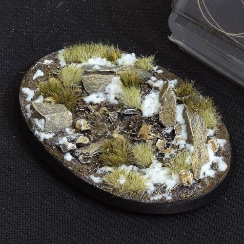 Gamers Grass 105mm Winter Bases, oval