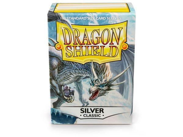 Dragon Shield 100 Classic Silver