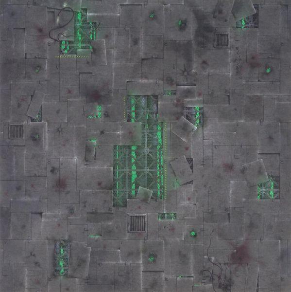 Gamemat 48x48 Zoll Chem Zone