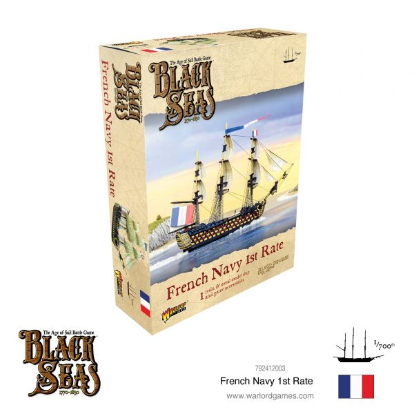 Black Seas French Navy 1st Rate