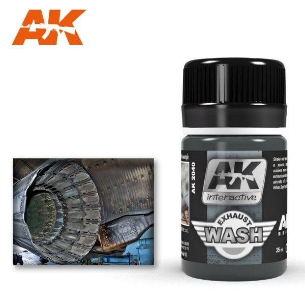 AK Interactive Wash Exhaust