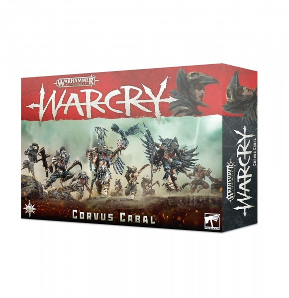 Warcry Corvus Cabal