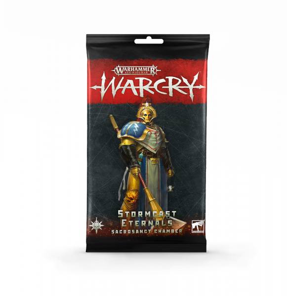 Warcry Stormcast Eternals Sancrosanct Kartenpack