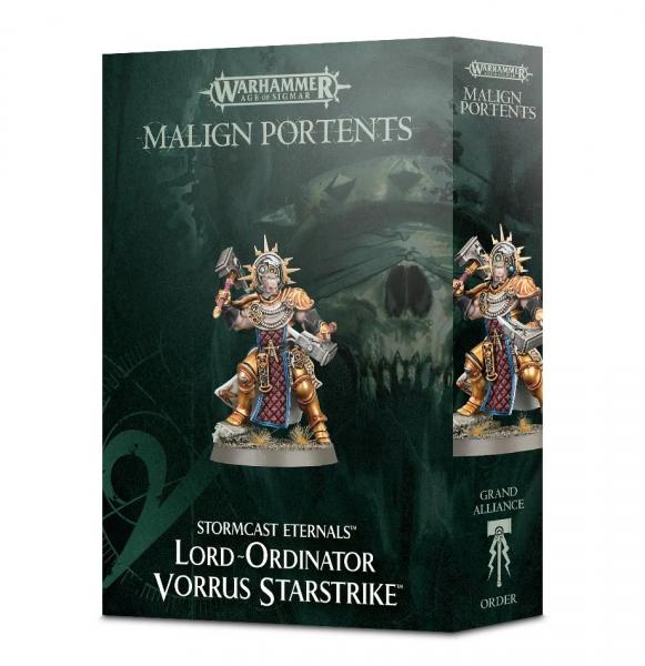 Stormcast Eternals Lord Ordinator Vorrus Starstrike
