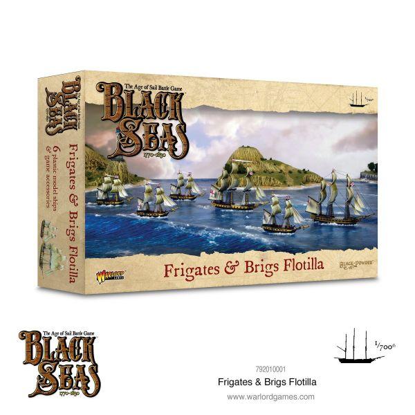 Black Seas Frigates & Brigs Flotilla (1770 - 1830)