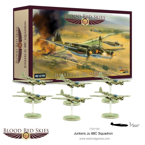 Blood Red Skies Junkers Ju 88C squadron