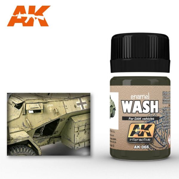 AK Interactive Wash for Africa Korps Vehicles