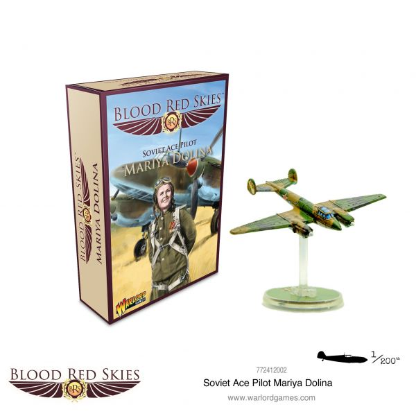 Blood Red Skies Soviet Ace Pilot: Mariya Dolina