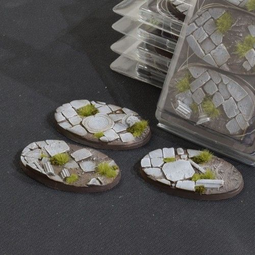 Gamers Grass 75mm Temple Bases, oval
