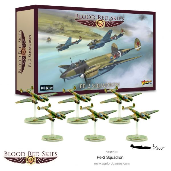 Blood Red Skies Pe-2 squadron