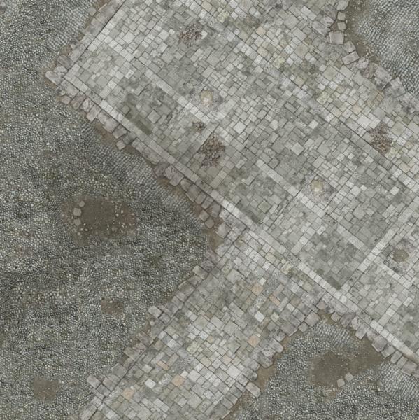 Gamemat 48x48 Zoll Medieval Town