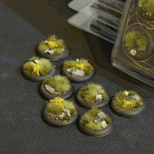 Gamers Grass 30mm Highland Bases, lip