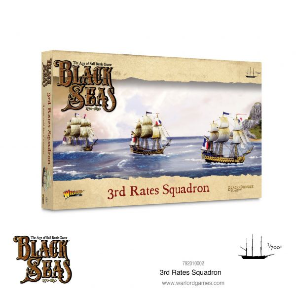 Black Seas 3rd Rates Squadron (1770 - 1830)