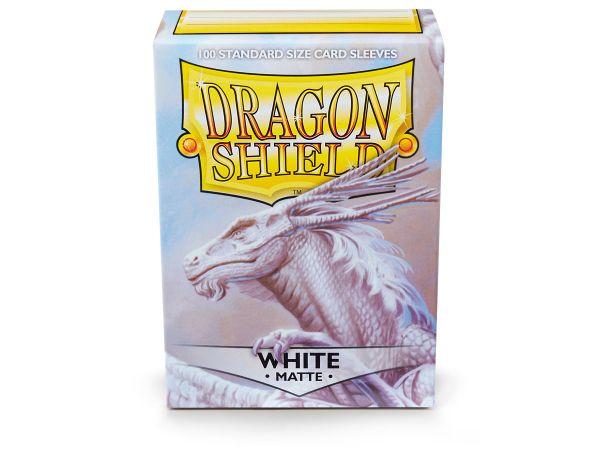 Dragon Shield 100 Matt White