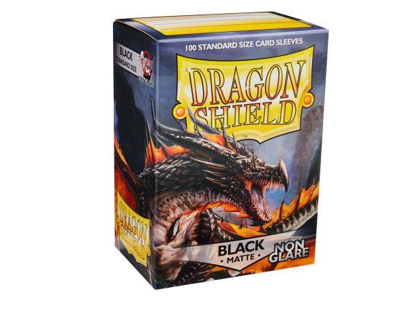 Dragon Shield 100 Matt Non Glare Black