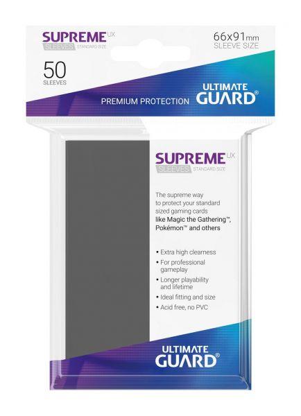 Supreme UX Sleeves Standard Size Dark Grey