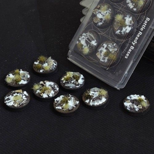 Gamers Grass 32mm Winter Bases, rund