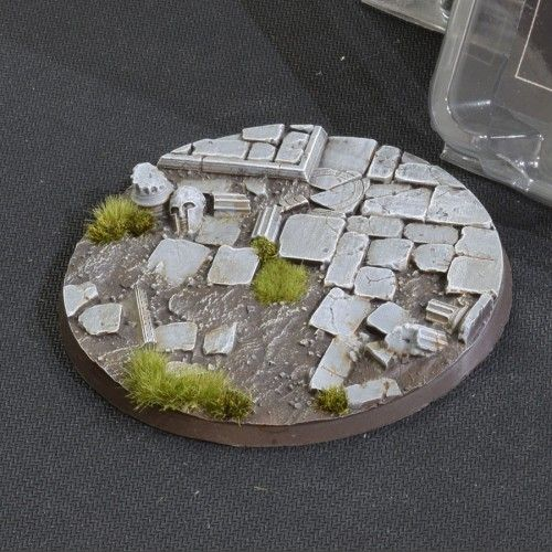 Gamers Grass 100mm Temple Bases, rund
