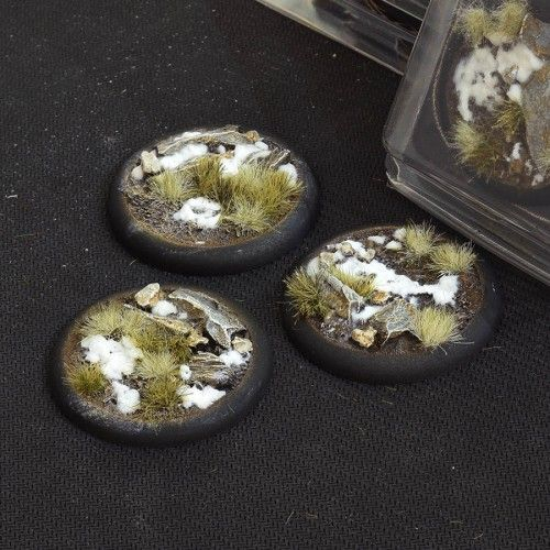 Gamers Grass 50mm Winter Bases, lip