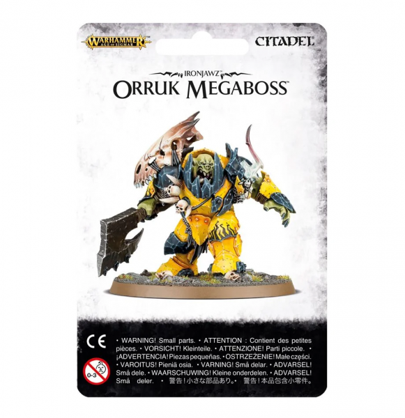 Ironjawz Orruk Megaboss