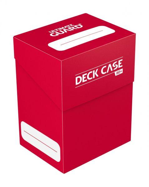Deck Case 80+ Standard Size Red