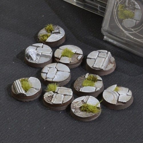 Gamers Grass 25mm Temple Bases, rund