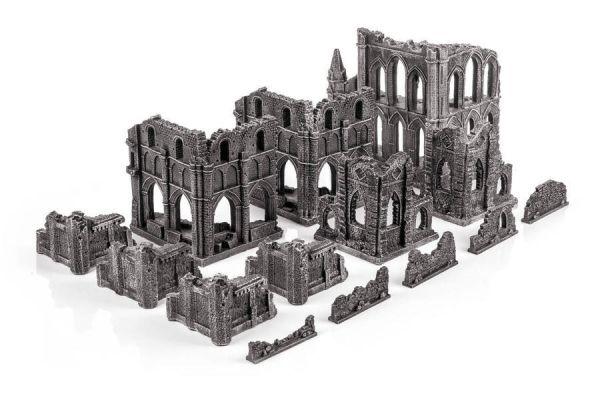 Gamemat Gothic Ruins Set