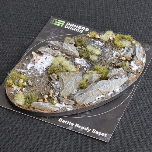 Gamers Grass 170mm Winter Base, oval