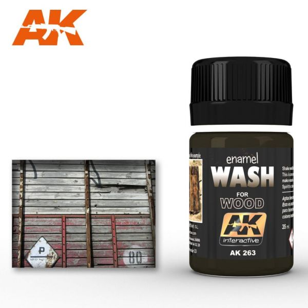 AK Interactive Wash for Wood