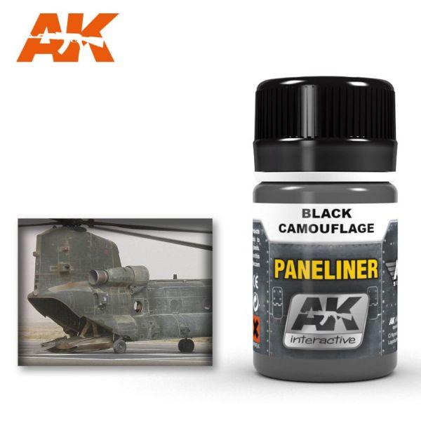 AK Interactive Paneliner for black