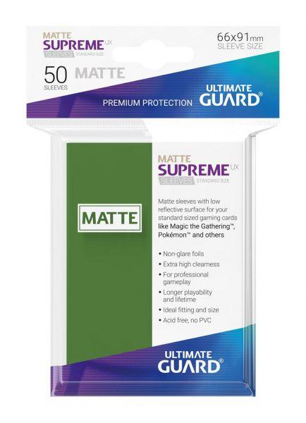 Supreme UX Sleeves Standard Size Matte Green