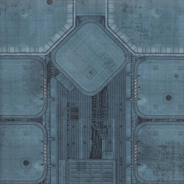 Gamemat 48x48 Zoll Imperial Base