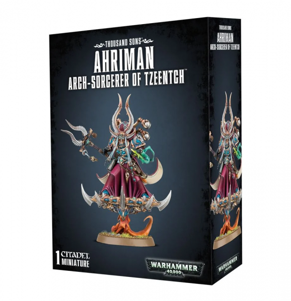 Thousand Sons Ahriman Arch Sorcerer of Tzeentch
