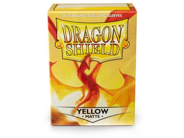 Dragon Shield 100 Matt Yellow