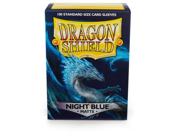 Dragon Shield 100 Matt Night Blue