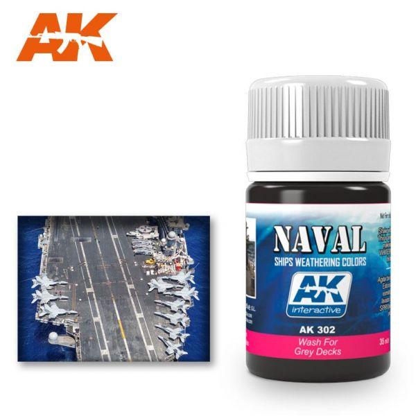 AK Interactive Wash for Grey Decks