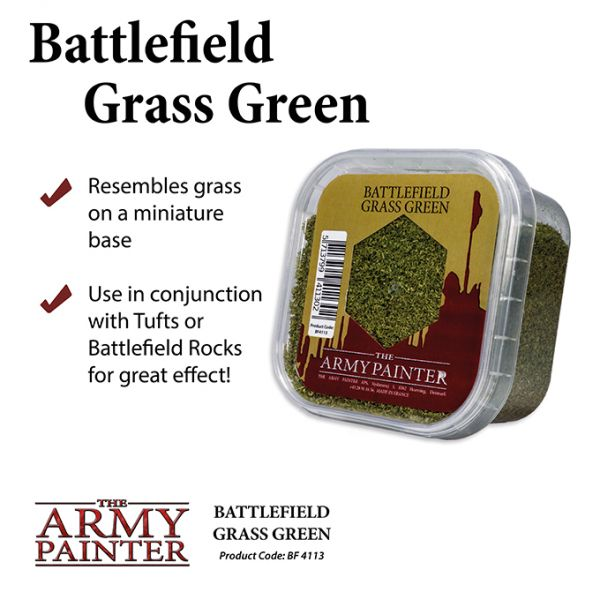 Basing Battlefield Grass Green