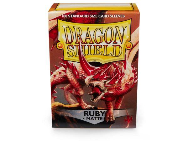 Dragon Shield 100 Matt Ruby