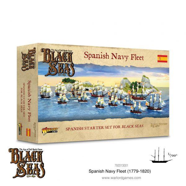 Black Seas Spanish Navy Fleet (1770 - 1830)