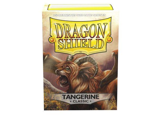 Dragon Shield 100 Classic Tangerine