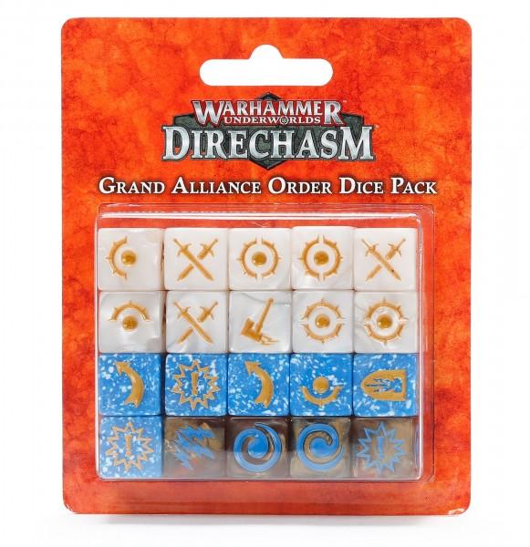 Warhammer Underworlds Grand Alliance Order Dice Pack