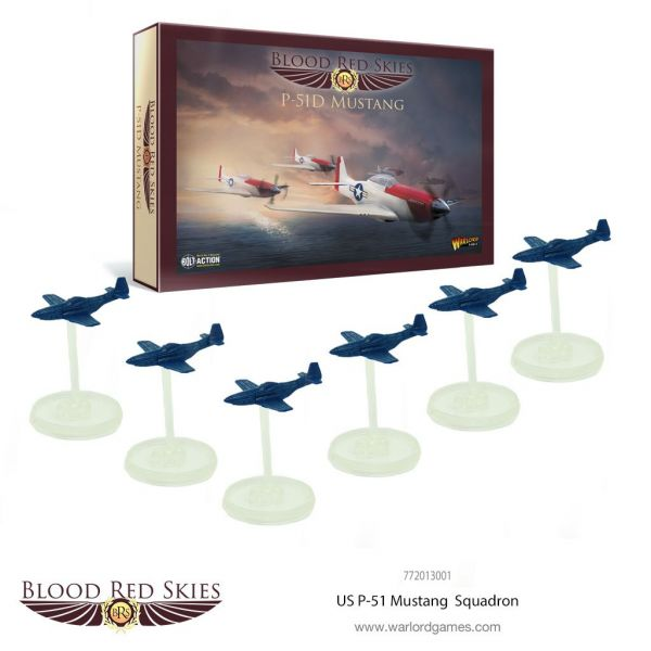 Blood Red Skies US P-51 Mustang Squadron