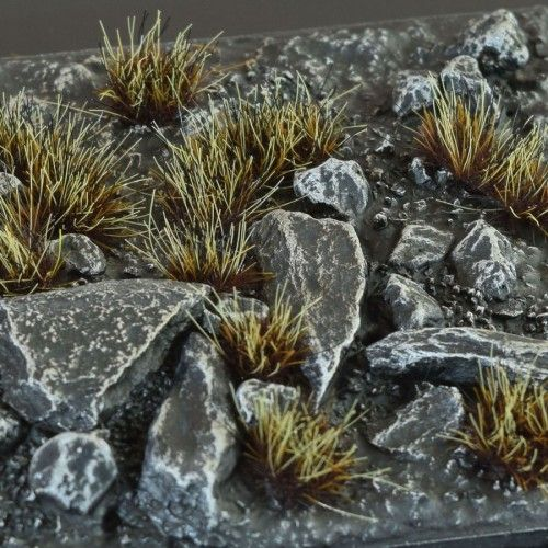 Gamers Grass Burned Tufts 6mm, wild