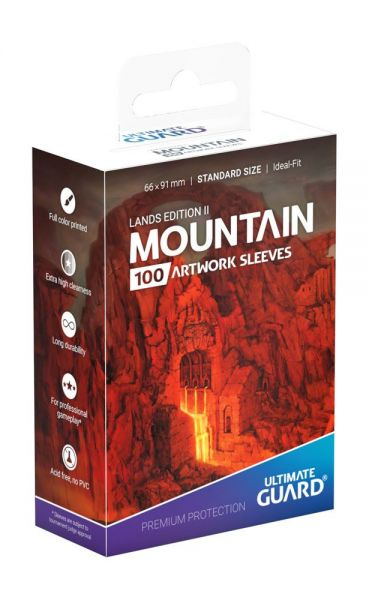 Ultimate Guard Lands Edition II Mountain